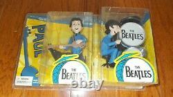 Beatles Figures/Dolls/ MIB Complete Set McFarlane Toys