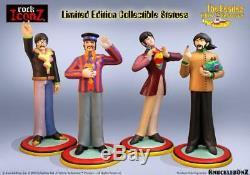 Beatles Yellow Submarine Statues Set of 4 John Paul George & Ringo by Iconz