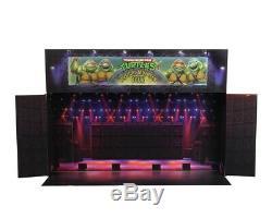 CONFIRMED SDCC NECA TMNT Musical Mutagen Tour Bundle 4-Pack Sz Medium turtles