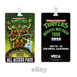 Confirmed Teenage Mutant Ninja Turtles Musical Mutagen Tour Bundle Size L Neca