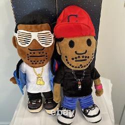 D Bruze D Bruze Kanye West Kid Cudi KSG TALKING Plush Plushie Kids See Ghosts