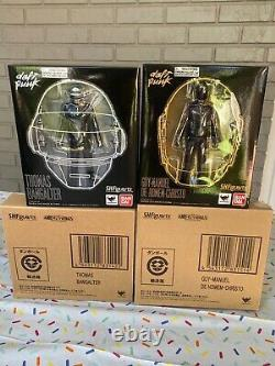 Daft Punk Bangalter & Guy-Manuel S. H. Figuarts Bandai Figures Full Set Mint