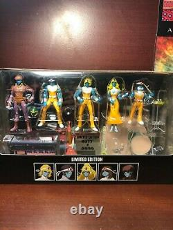 Daft Punk Interstella 5555 Toy Action Figures NEW Limited Edition #4077