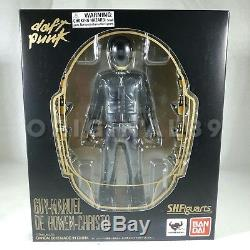 Daft Punk SH Figuarts Guy Manuel & Thomas Bangalter Action Figures & RAM Sticker