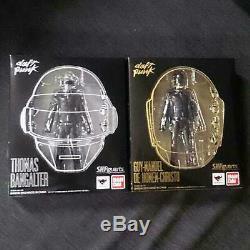 Daft Punk Thomas Bangalter Guy-Manuel Figure Set S. H. Figuarts Bandai Brand New