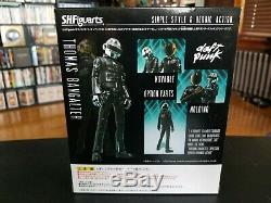 Daft Punk Thomas Bangalter Guy-Manuel Figure Set S. H. Figuarts Bandai New In Box