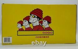 Devo NECA Action 5 Figure Box Set with Signed Poster New Sealed in Box Nerd Rock
