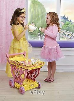 Disney Beauty and the Beast Princess Belle Musical Tea Party Cart Be Our Guest