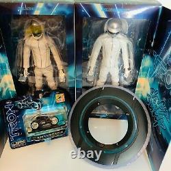 Disney Daft Punk Tron Legacy Figure Set, light cycle, identity disk