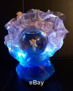 Disney RARE Little Mermaid Broadway Musical Light Up Snow Globe 2008 WORKS HTF