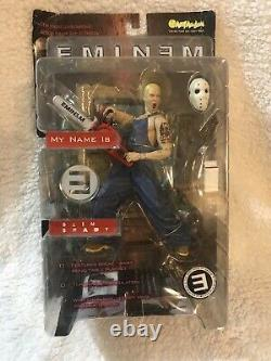 EMINEM Action Figures by Art Asylum 2001 BOTH FIGURES Vintage Rap