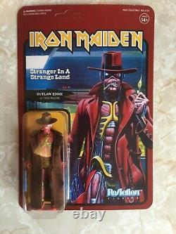 Eddie Iron Maiden WAVE 2 Super 7 ReAction 3.75 Figures All 7 NEW