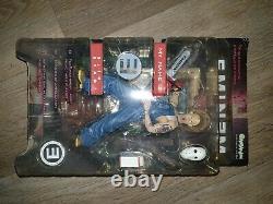 Eminem Action Figure & Diorama Rare Art Asylum 76100 BNIB Slim Shady chainsaw