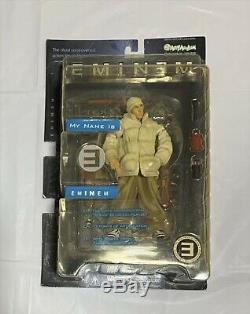 Eminem My Name is SLIM SHADY action figure 3 set Art Asylum 2001 Doll NEW