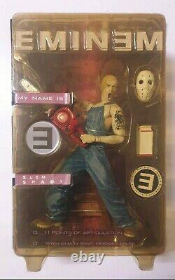 Eminem My Name is SLIM SHADY action figure Art Asylum 2001