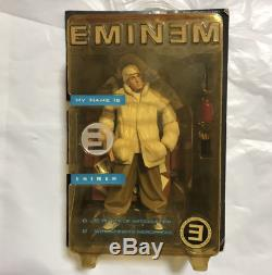 Eminem action figure Art Asylum 2001 Nike Unused