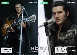 Enterbay Kotobukiya Elvis Presley 1968 Comeback Special action figure hot toys