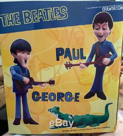 FACTORY SEALED McFarlane THE BEATLES ROCK & ROLL WithALLIGATOR Deluxe Box Set