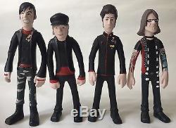 Fallout Boy Vinyl Action Figure set SOTA Toys 2006 Rock, Music, Fall Out
