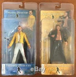 Freddie Mercury 7 2006 Neca Figure set (MIB) RARE