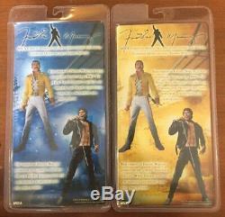 Freddie Mercury 7 2006 Neca Figure set (MIB) RARE SET
