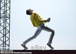 Freddie Mercury Action Figure Queen Singing Artist Bandai Tamashii Nations USA