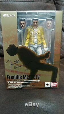 Freddie Mercury, Bandai, Queen, SHFiguarts, Toy Japan, RARE, VHTF