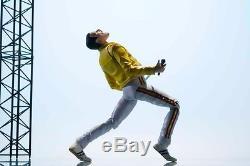 Freddie Mercury Live at Wembley Stadium Bandai Music Action Figure Original New