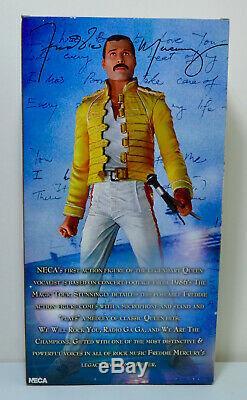 Freddie Mercury Queen 18'' Figure with Sound SEALED NECA