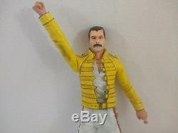 Freddie Mercury / Queen 18 NECA Action Figure with Sound Rare Collectible