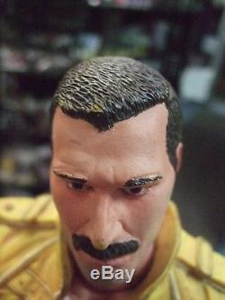 Freddie Mercury Queen LOOSE 18 inches Action Figure with Sound by NECA