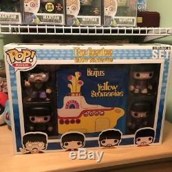 Funko Pop! Rock The Beatles Yellow Submarine Collectors Set