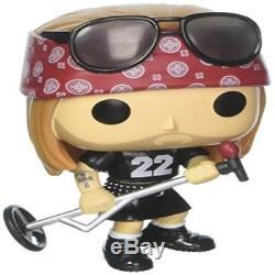 Funko Pop Rocks Guns N Roses Axl Rose Vinyl Figure Item 10688 Toy Play New