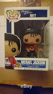 Funko Pop Vinyl Michael Jackson (Beat It) #23