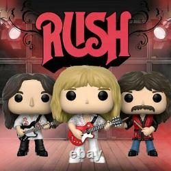 Funko Pop Vinyl RUSH Triple 3 Pack (Sealed and Brand New) (Sold Out Months Ago)
