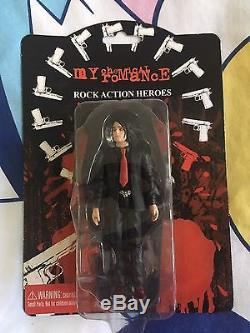 Gerard Way My Chemical Romance Rock Action Figure