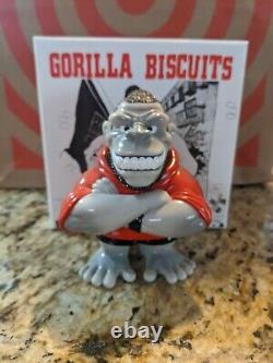 Gorilla Biscuits Super7 Red vinyl Toy Figure NYHC Hardcore SXE GB