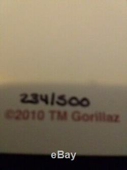 Gorillaz Complete Band Rare Action Figure Set Kidrobot Albarn lot art print blur