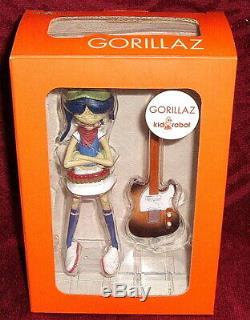 Gorillaz Kid Robot Noodle Action Figure Boxed Unopened Mint Cmyk Edition