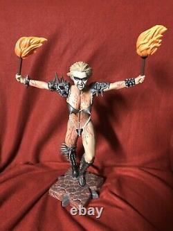 Gwar Slymenstra Hymen Resin Statue Rare