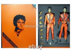 HOT TOYS Michael Jackson THRILLER ver. Figure HotToys 1/6 Micon DX Doll MJ