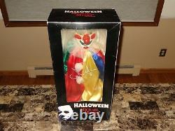 Halloween John Carpenter Signed 24 Clown Doll Action Figure Michael Myers Movie