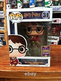 Harry Potter Harry Potter on Broom SDCC 2017 31 Funko Pop Vinyl Expert Packaging