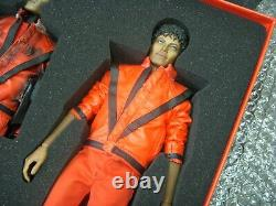 Hot Toys 12 Inch Action Figure Michael Jackson THRILLER Ver
