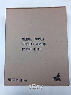 Hot Toys MIS09 MIS 09 Michael Jackson (Thriller Version) 12 inch Figure NEW