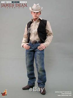 Hot Toys MIS 01 James Dean (Cowboy Version) 12 inch Action Figure NEW