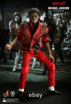 Hot Toys MS09 1/6 Scale MICHAEL JACKSON THRILLER Version Action Figure MIB