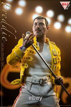 In Stock Win. C Studio 1/6 Freddie Mercury Yellow Jacket Costume set