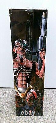 Iron Maiden 18 Eddie Figure NIB Somewhere In Time Cyborg Neca mcfarlane toy