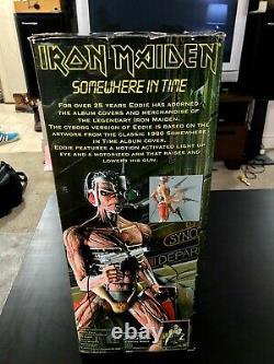 Iron Maiden 18 Eddie Figure Somewhere In Time Cyborg Neca McFarlane toy